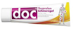 DOC Ibuprofen Schmerzgel im Test