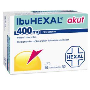 Ibuhexal akut 400 Filmtabletten im Test